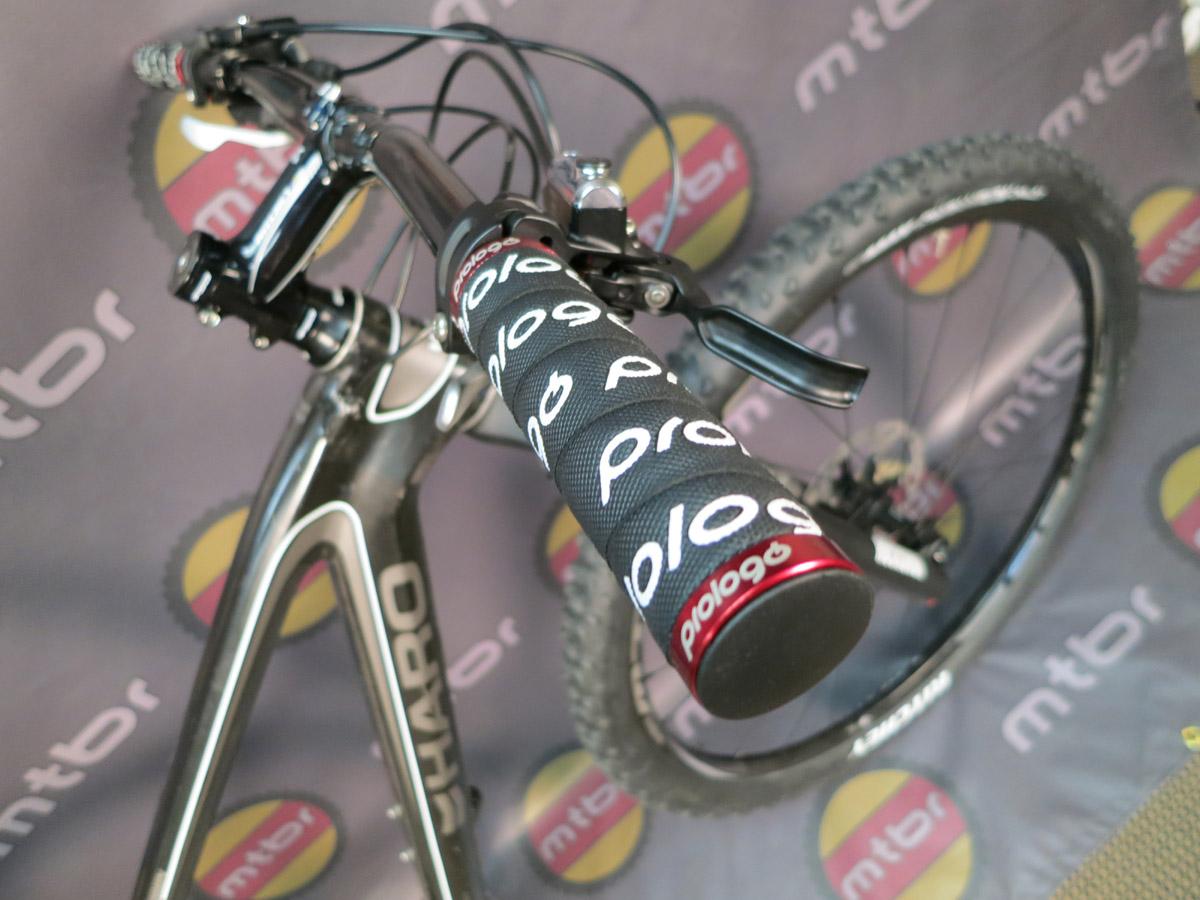 Prologo Chameleon grips on the Haro FLC 29