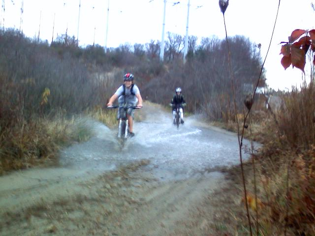Mass Riders, Post Your Bikes/Where You Ride-puddle.jpg