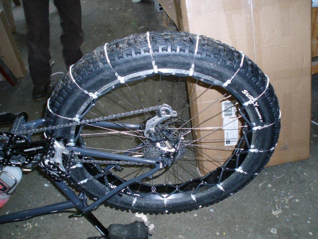 Anyone Running Slipnot Tire Chains On Their Fat Bike