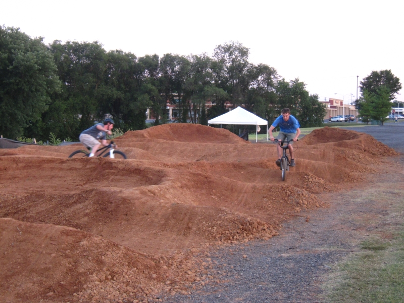 Frederick, MD pump track - Digging is getting ready to start-pump-track-day-3.jpg