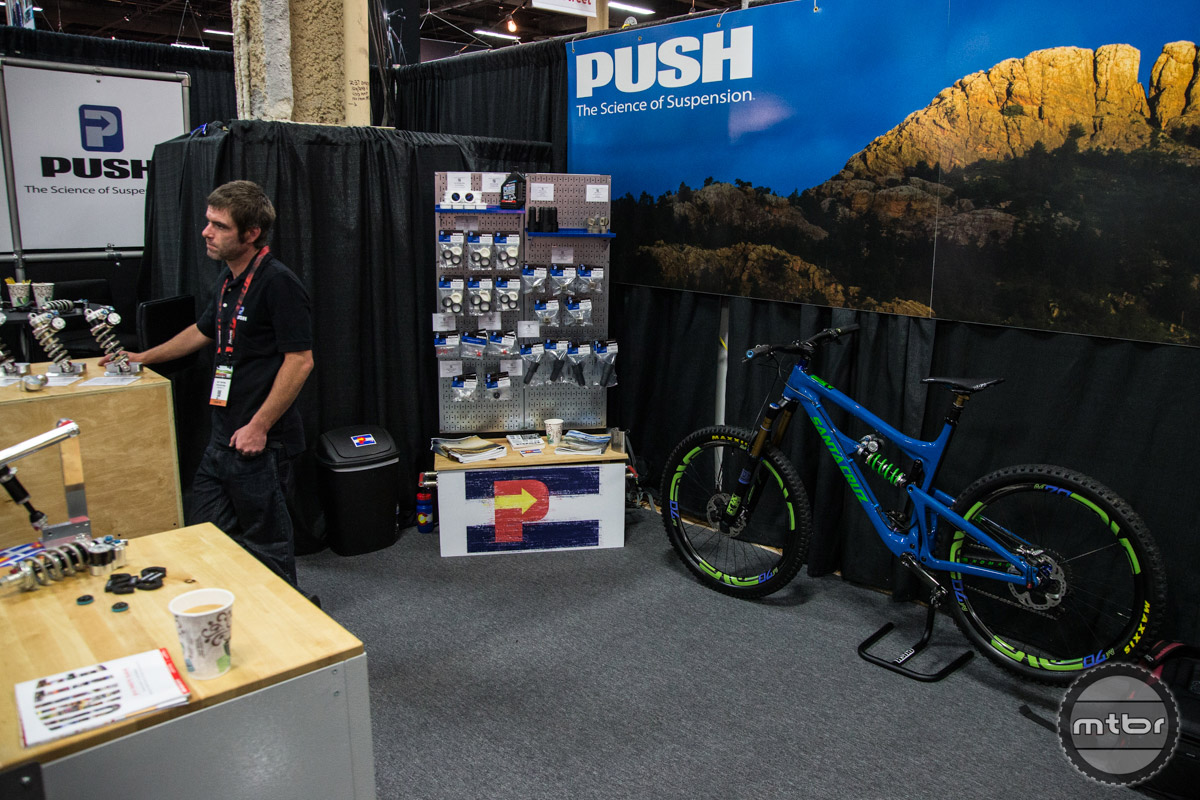 PUSH Industries has been in the suspension tuning game for a long time. They now offer complete rear shocks, fork seal kits and suspension fluid.