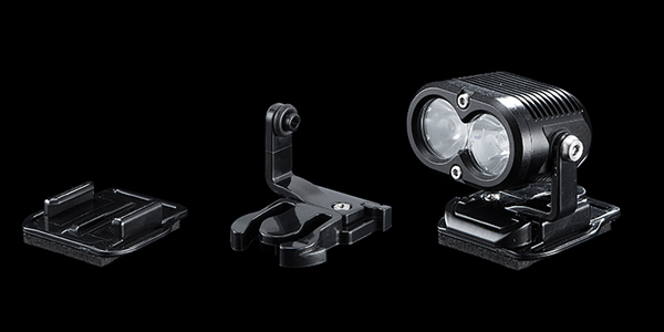 Introducing Gloworm X2 - New Dual XM-L LED light system-qr-helmet-combo.jpg