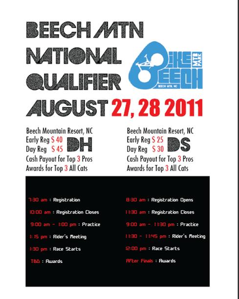 Beech Mountain Downhill and Dual Slalom Qualifying Race Update-qualifier-flyer.jpg