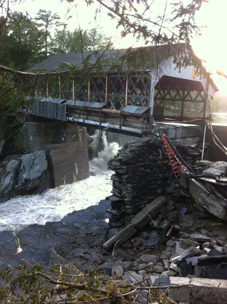 Kindom trails conditions after Irene-quechee-bridge.jpg