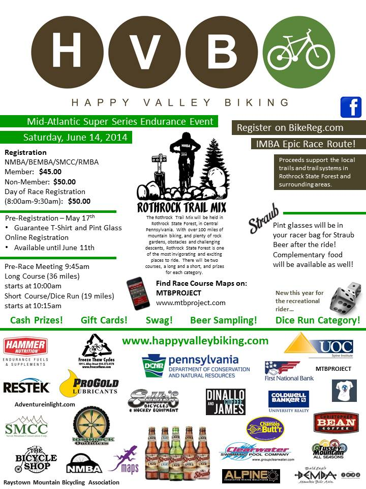 Rothrock TrailMix State College PA-race-flyer-2014.jpg