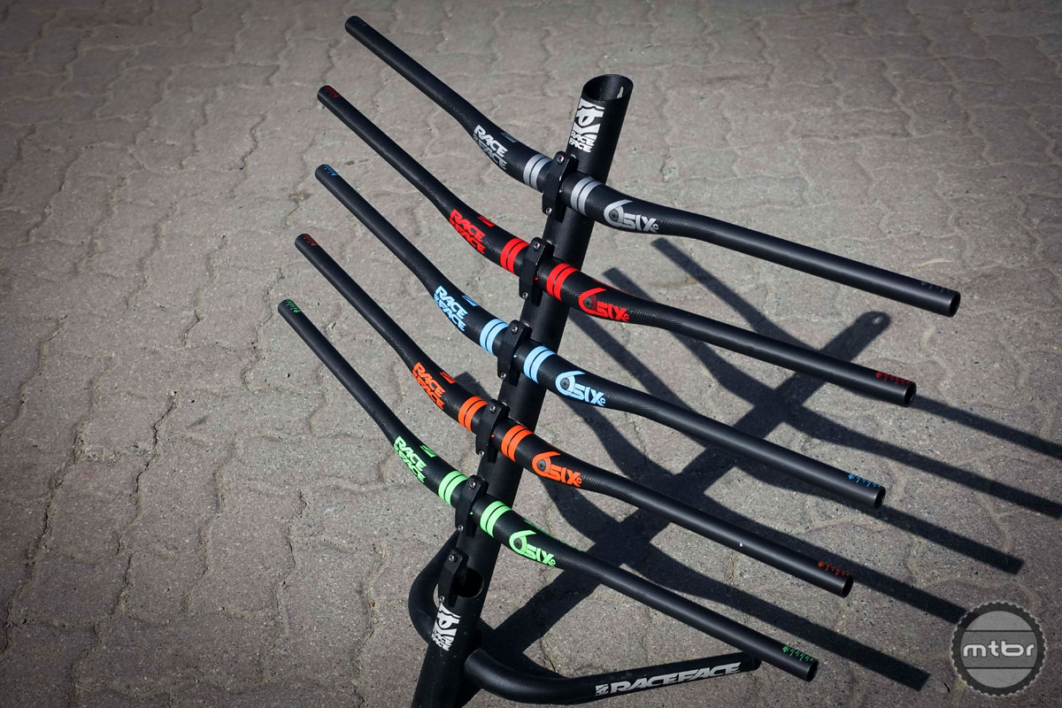 Updated Race Face SIXC handlebar & Atlas wheels debut