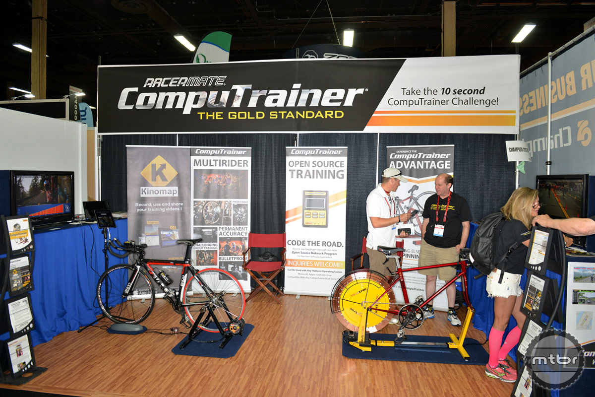 CompuTrainer Racermate Interbike 2014 Booth
