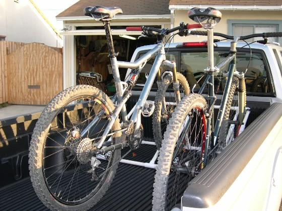 Truck bed bike racks...Ideas?- Mtbr.com