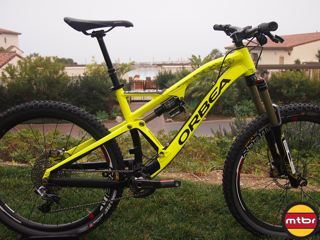 Orbea Rallon - 27.5 All Mountain/Enduro from Winter Press Camp