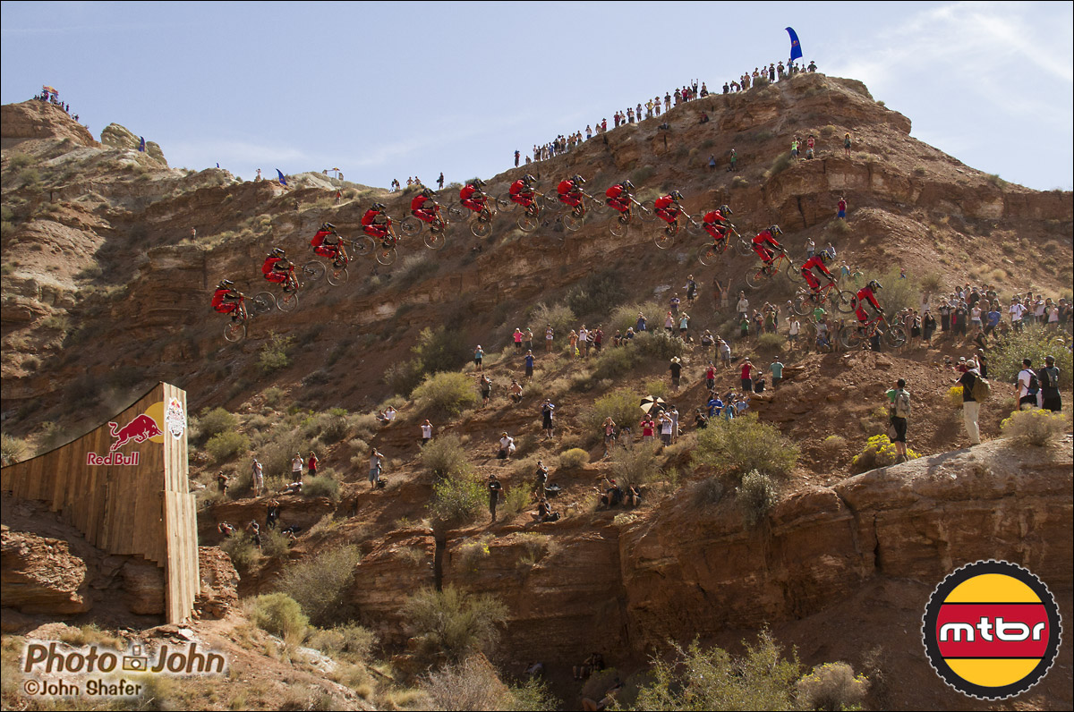 Cam McCaul - 2012 Red Bull Rampage Qualifier Canyon Gap
