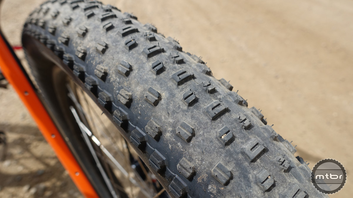 WTB's new Ranger plus tire has a great all-around tread for mixed conditions.