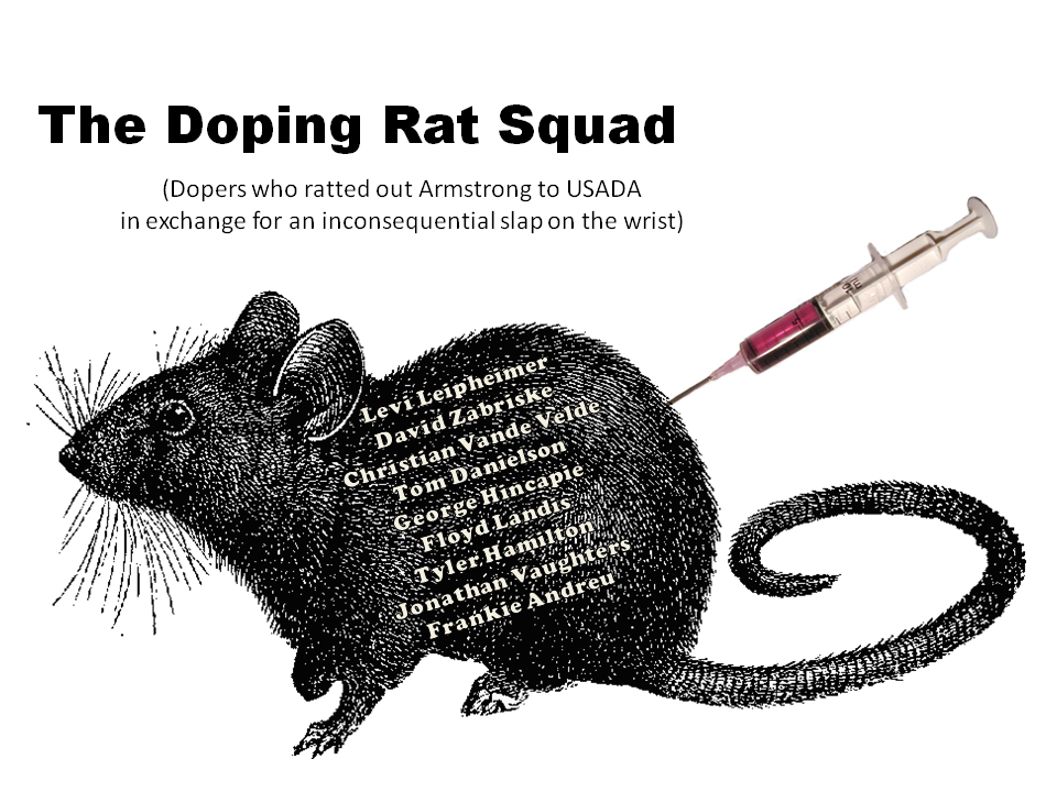 Lance Armstrong finally to come clean?-rats.png