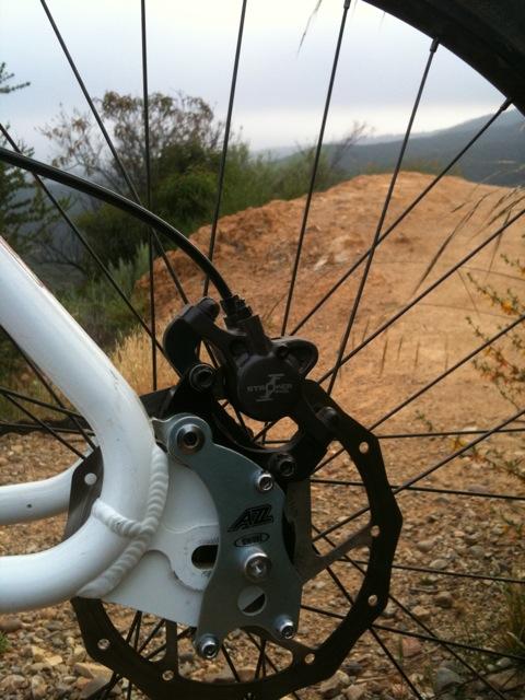 New build, old Ventana. 650b content too.-rear-brake-adapter.jpg
