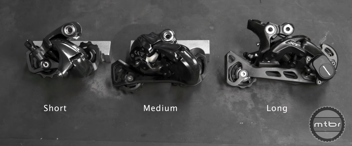 "Many brands have medium cage options on their rear derailleurs that is typically used for ""in-between"" road drivetrains and mountain bikes that are in the 28-36 tooth range."