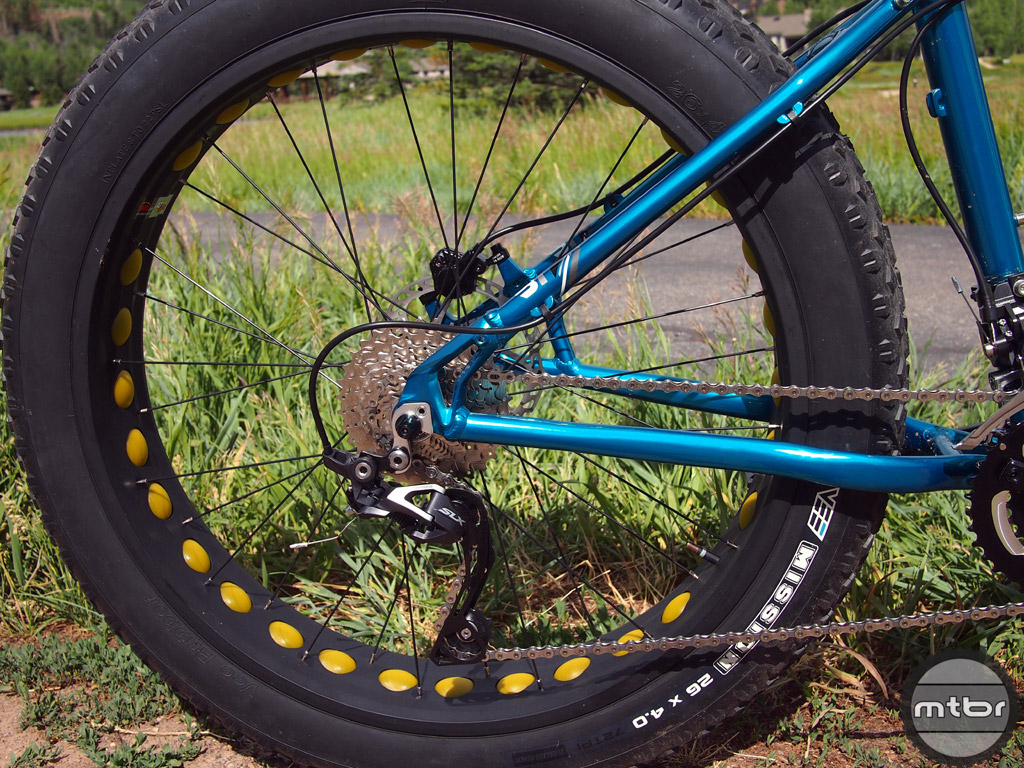 Mongoose Argus Rear End