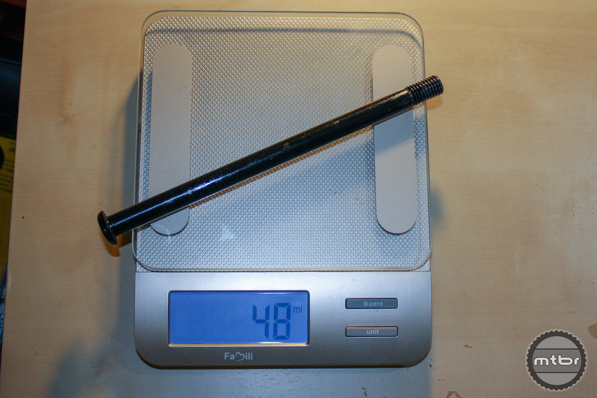 Rear LBA Weight