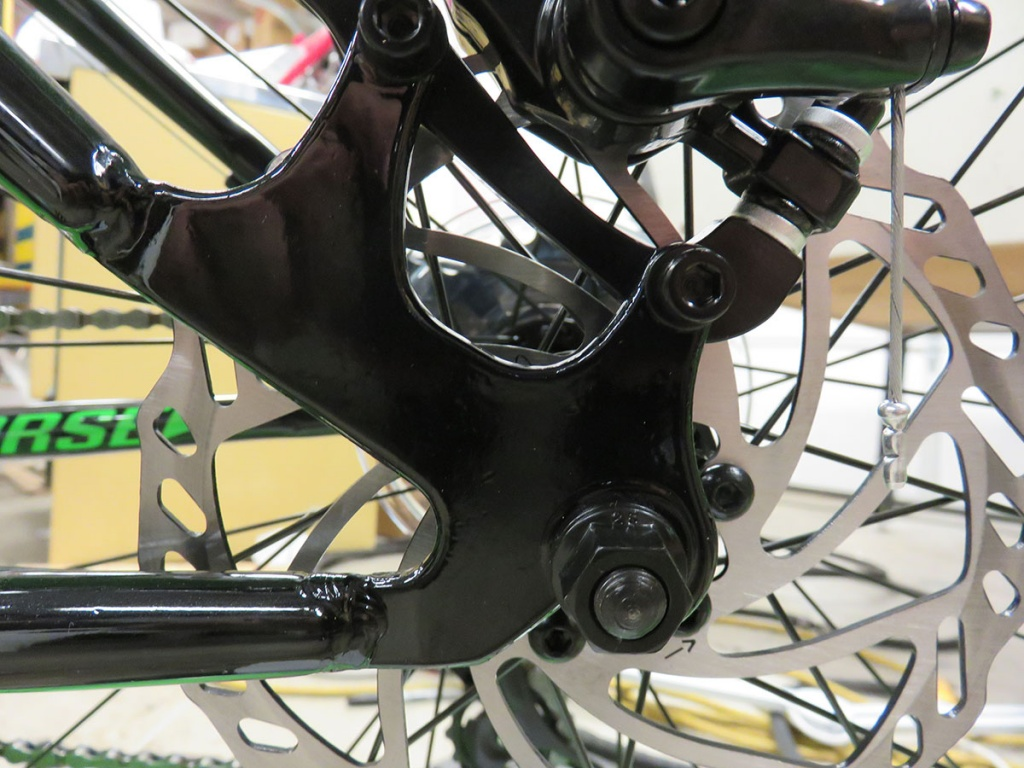 Iron Horse Porter VS.  Mongoose Dolomite - (they are not the same bike after all)-rear2.jpg