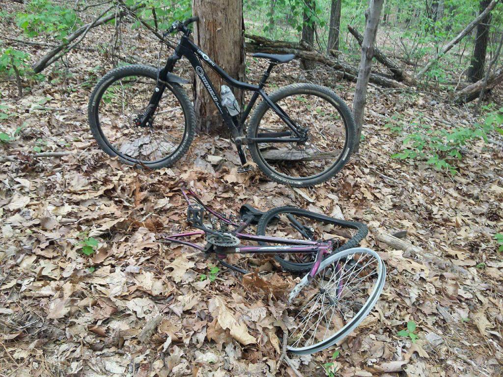how to convert my hybrid to a ok trail bike-received_10212290692885525.jpg