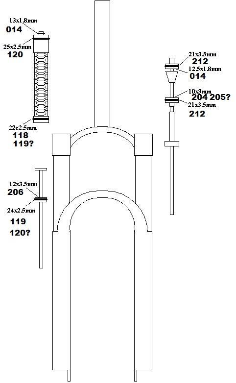 O Ring Sizes For Rs Revelation Reba Pike Inside Mtbr