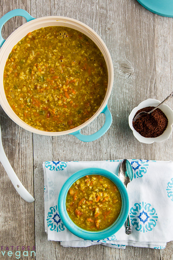 Vegetarian / Vegan / Raw recipes & chat-red-lentil-soup-cauliflower-rice-600.jpg