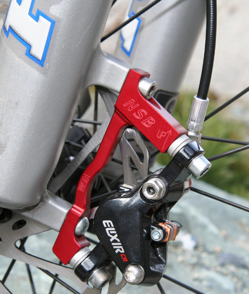 Bicycle Avid Disc Brake Mount Adapter Post to Post 20mm adapter for 180mm Rotor