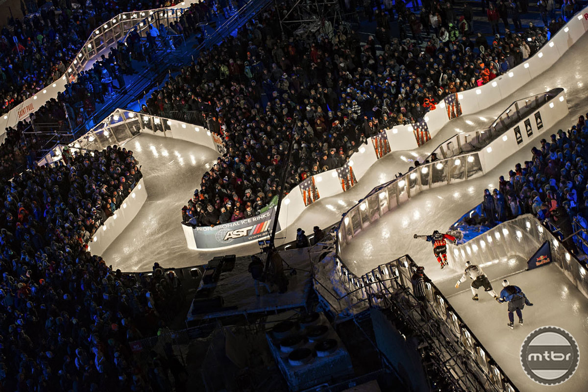 Red Bull Crashed Ice Course