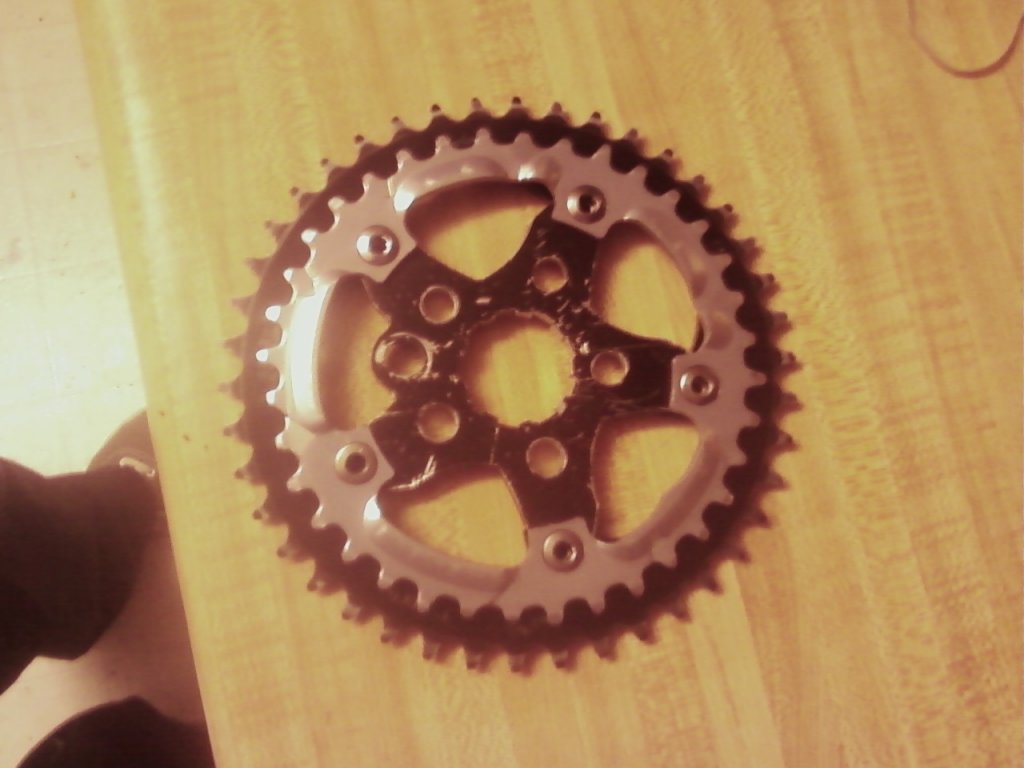 42t (or>36t) Cassette sprocket/adaptor for Shimano 10 speed?-redline-spider-36-42-chainrings-cogs-conversion-2.jpg