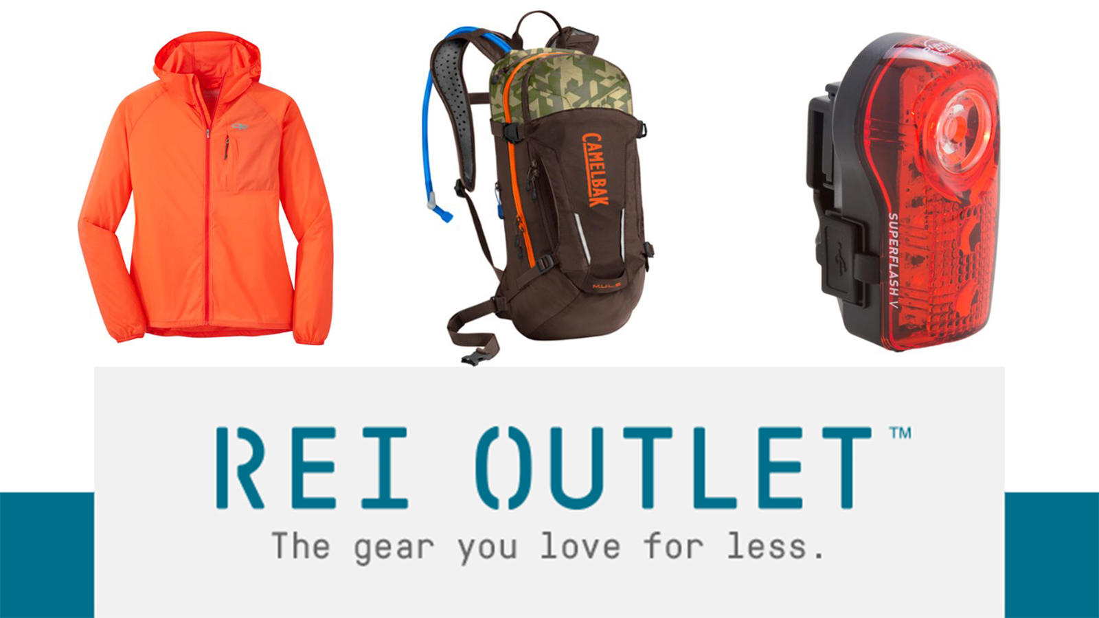 You'll find something for all of your outdoor pursuits at the REI Outlet Sale.