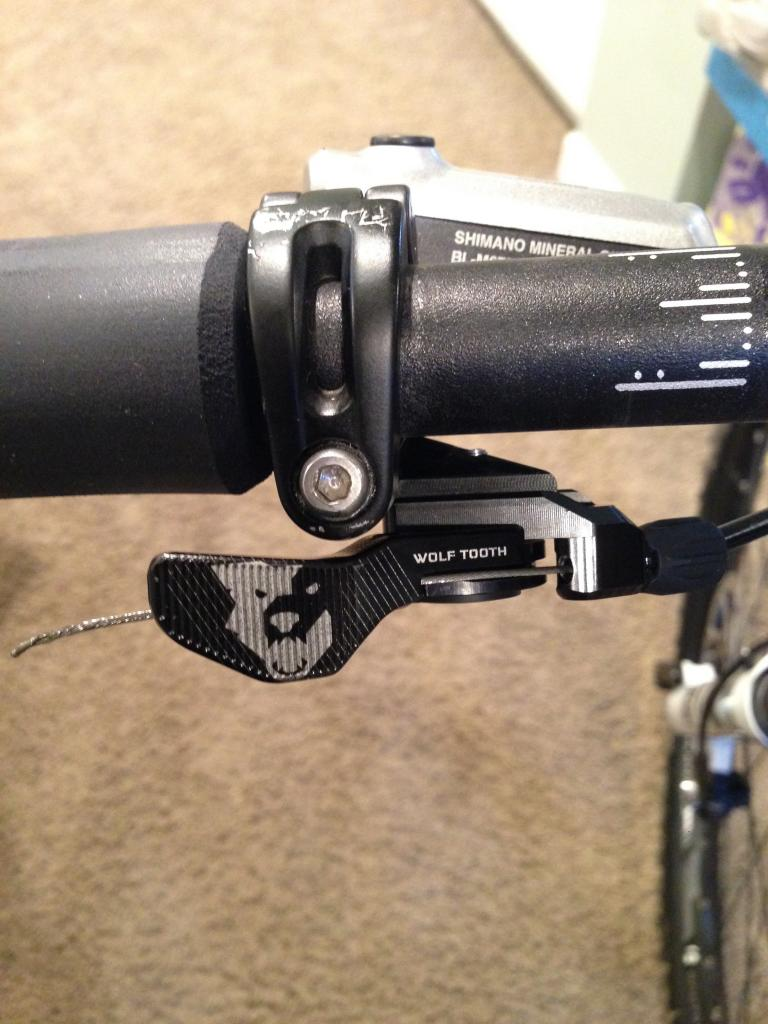 Giant Contact Switch Dropper Seatpost 2X Remote Lever 30.9 X 440mm Travel 150mm