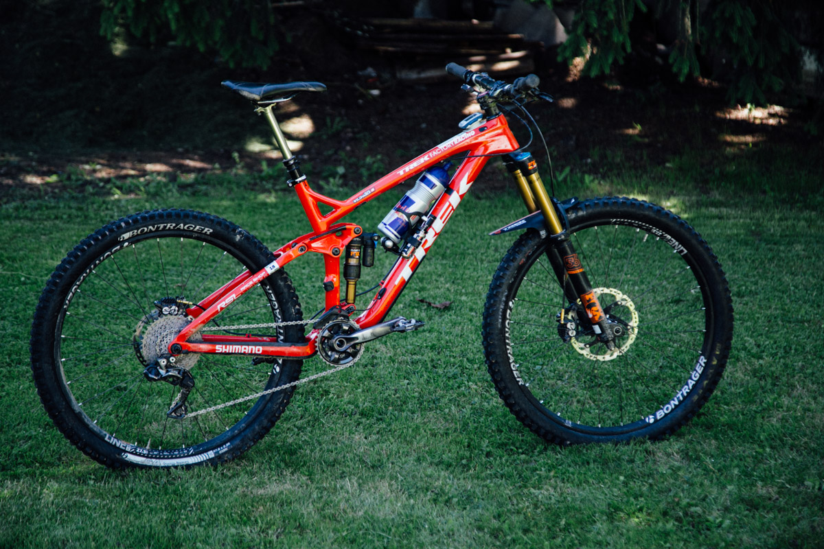 Rene Wildhaber Trek 27.5 EWS Race Bike -14