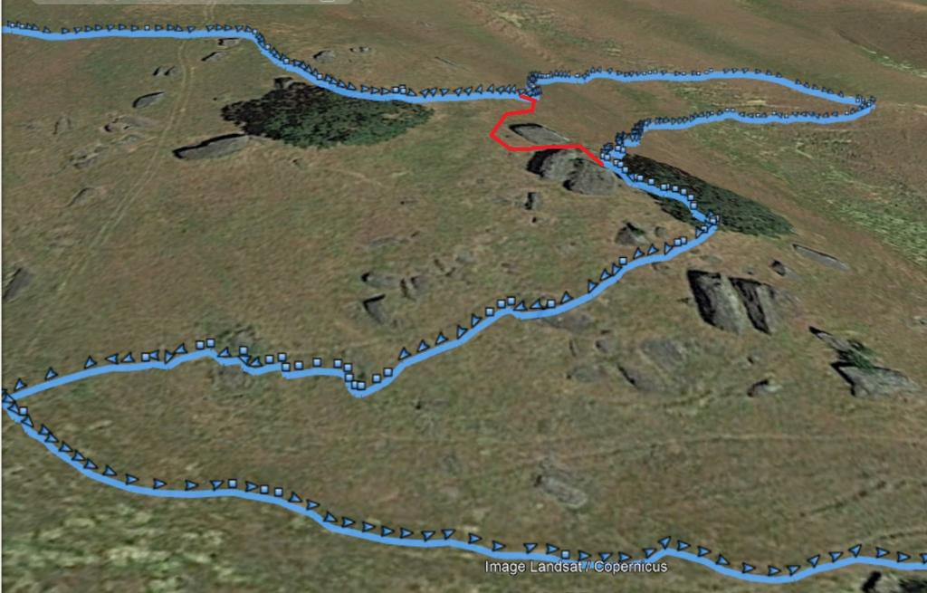Long Arc'ing Traverses Versus Short Steep Climbing/Descending-reroute.jpg