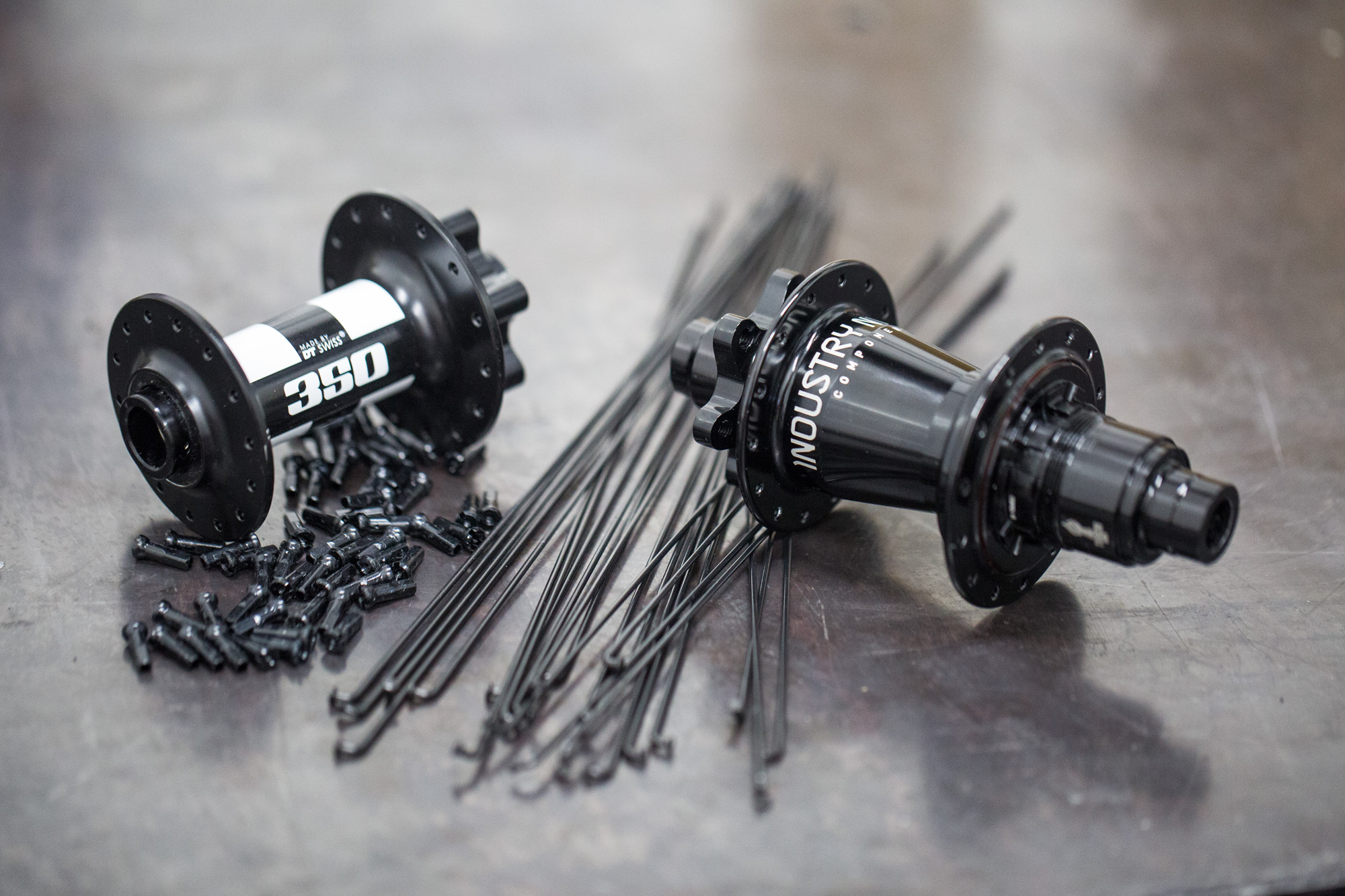 All the components used to build up the Reserve wheels are easily sourced through your local bike shop.