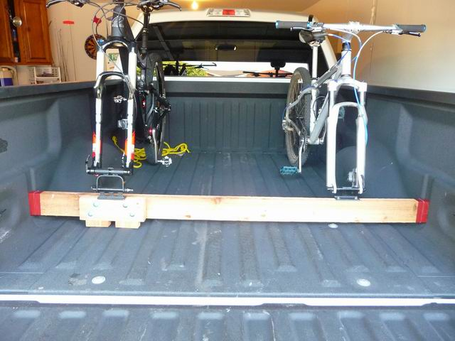 Building Your Own Bike Rack For The Truck Bed Mtbr Com