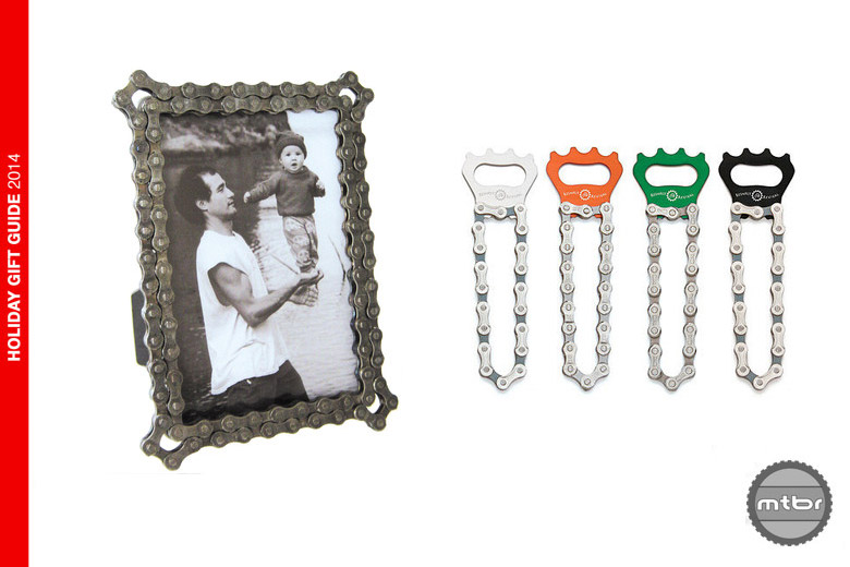 Resource Revival Chain frame and bottle opener