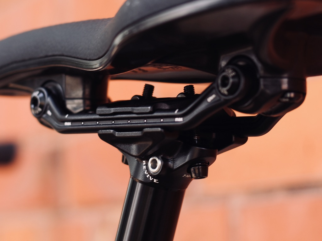 BikeYoke Revive 2.0: An updated saddle clamp makes installation fast and easy.