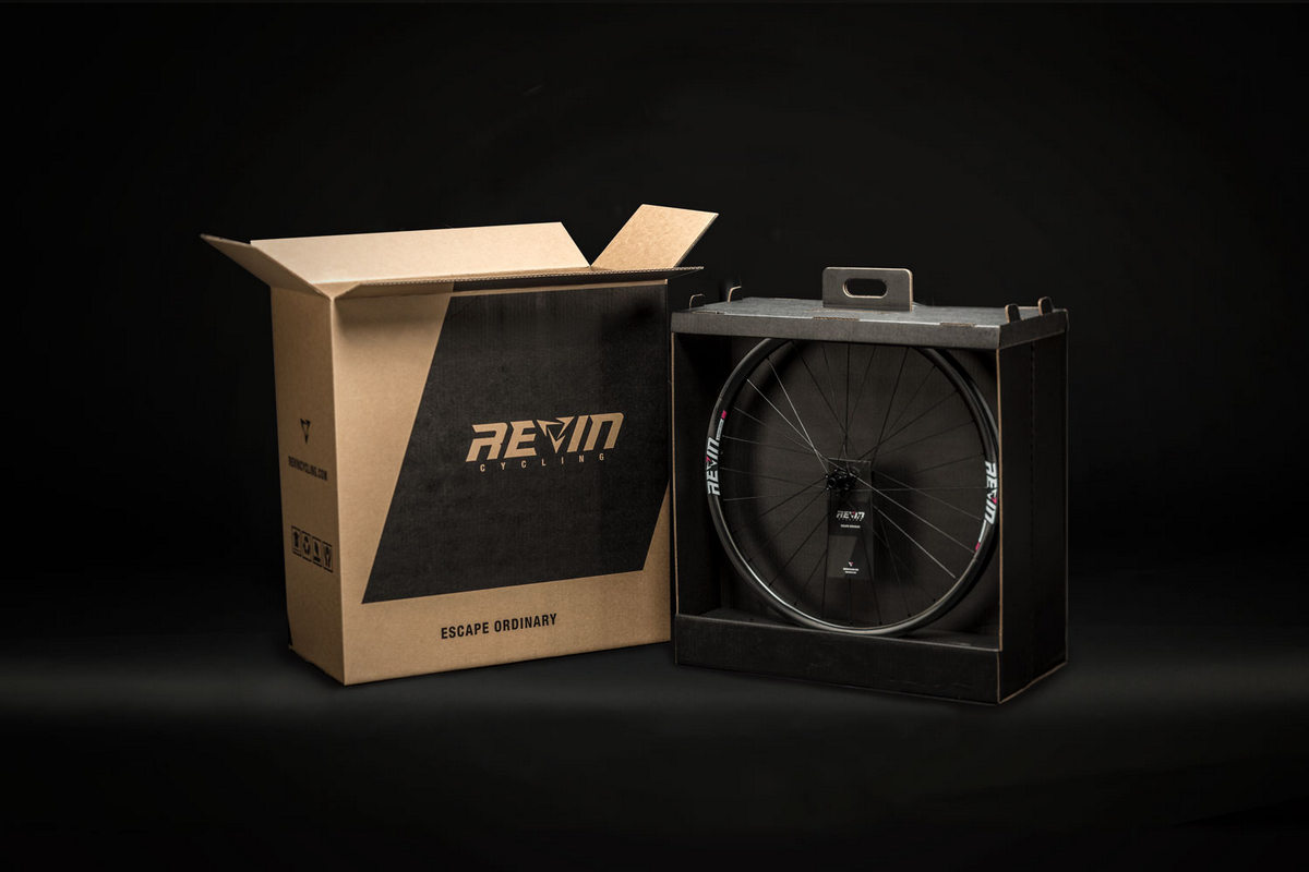 Revin is meticulous about all the details of the build, including the packaging and delivery to the customer.
