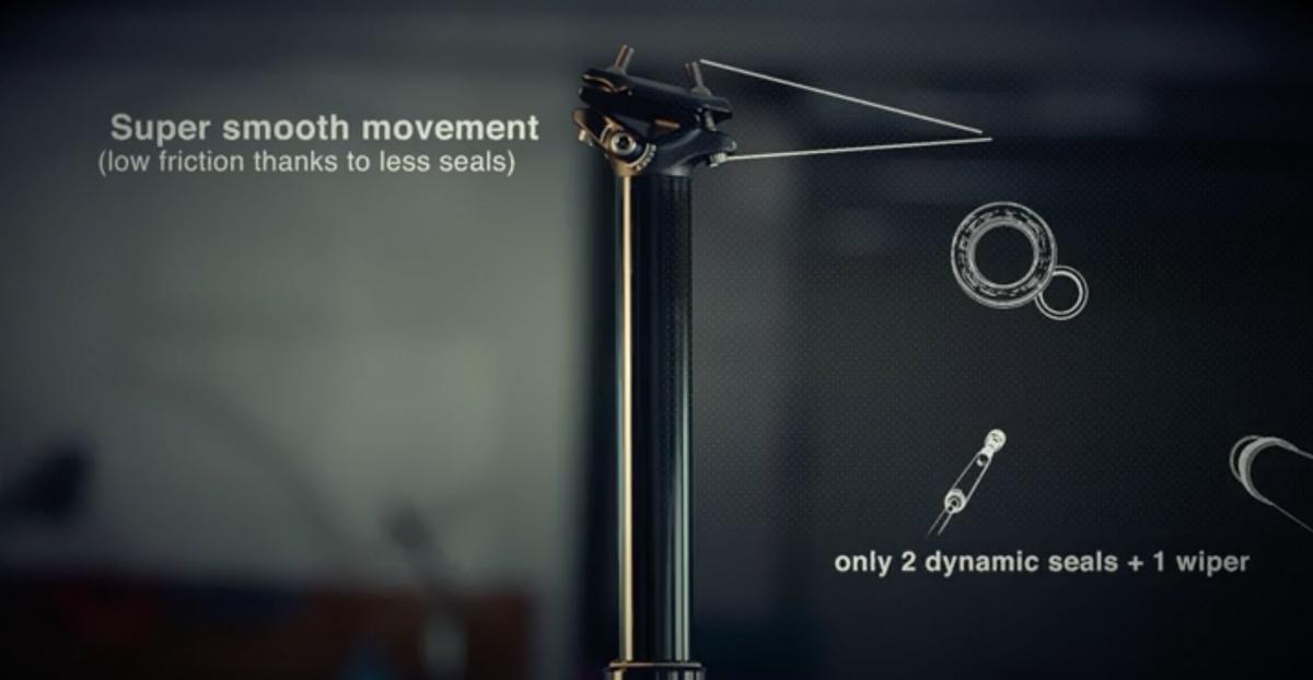 BikeYoke REVIVE 185mm Dropper Post