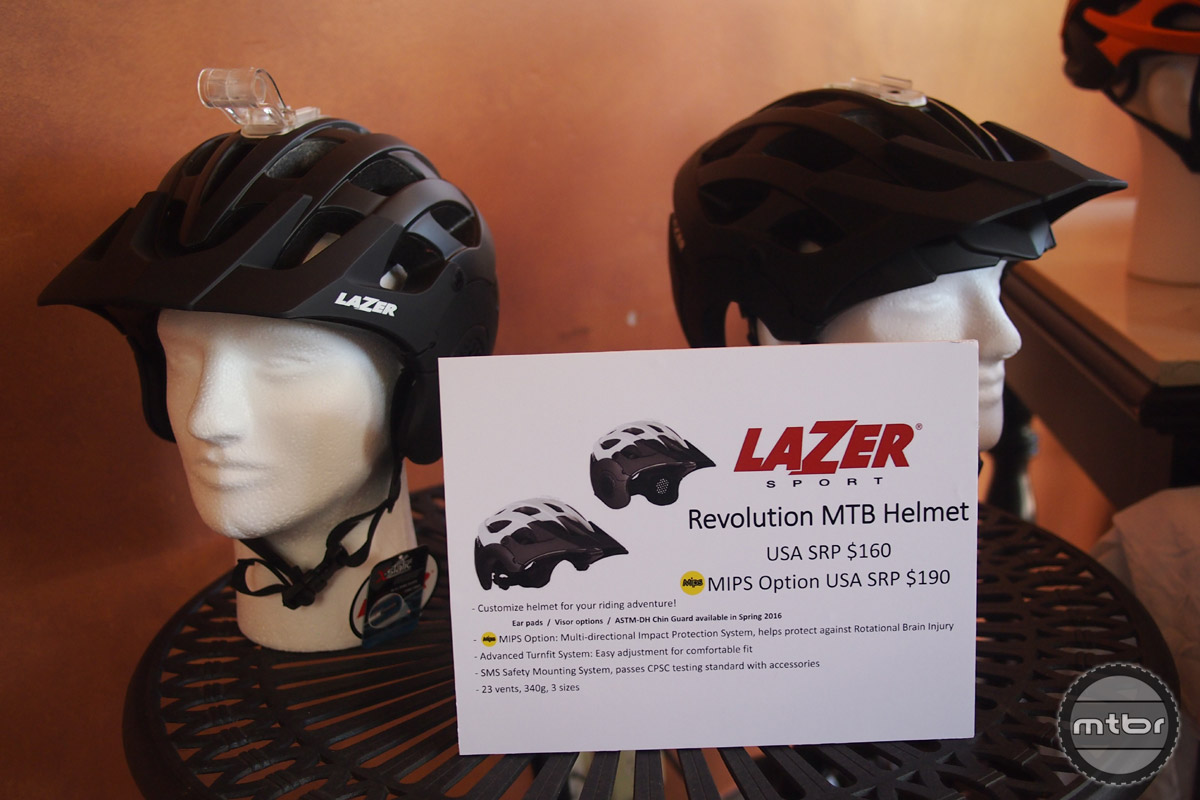 Brand new for 2016, the Revolution is an all mountain/enduro style helmet with GoPro and light mounting options.
