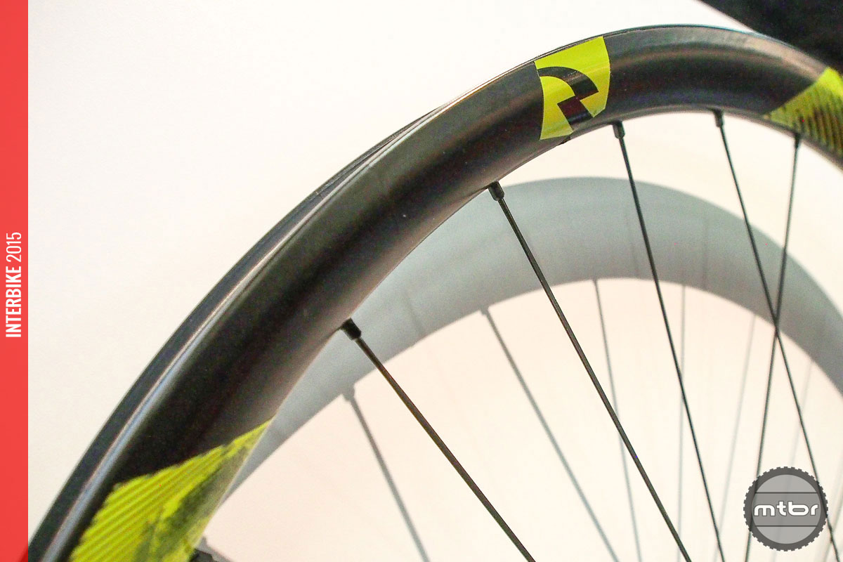 No that's not enduro blue, but these 27.5 Reynolds Black Label Enduro wheels are designed to take a pounding.
