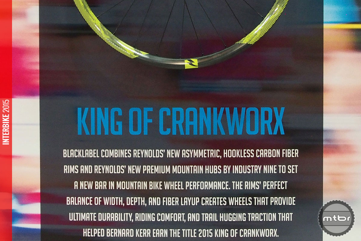 The 27.5 Trail wheels helped Bernard Kerr win the coveted King of Crankworx title this year in Whistler.