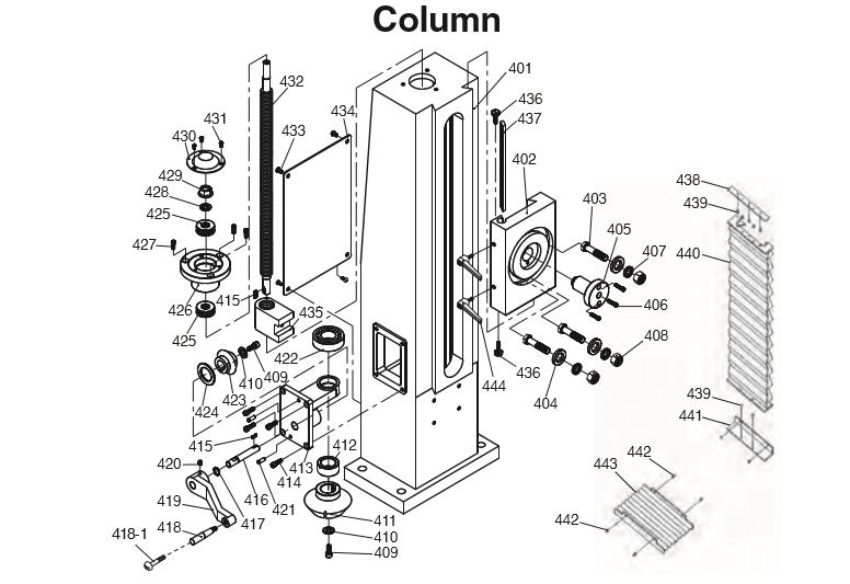 Benchtop mill for mitering-rf45_column.jpg