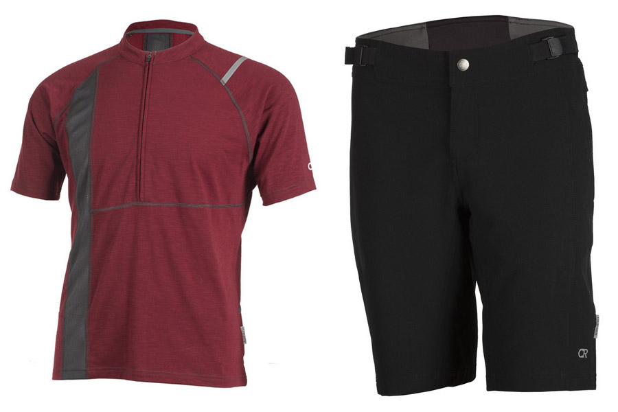 The Rialto is a comfy fit jersey with a retail price of $79.95 and the stretch fabric Phantom shorts also retail for $79.95.