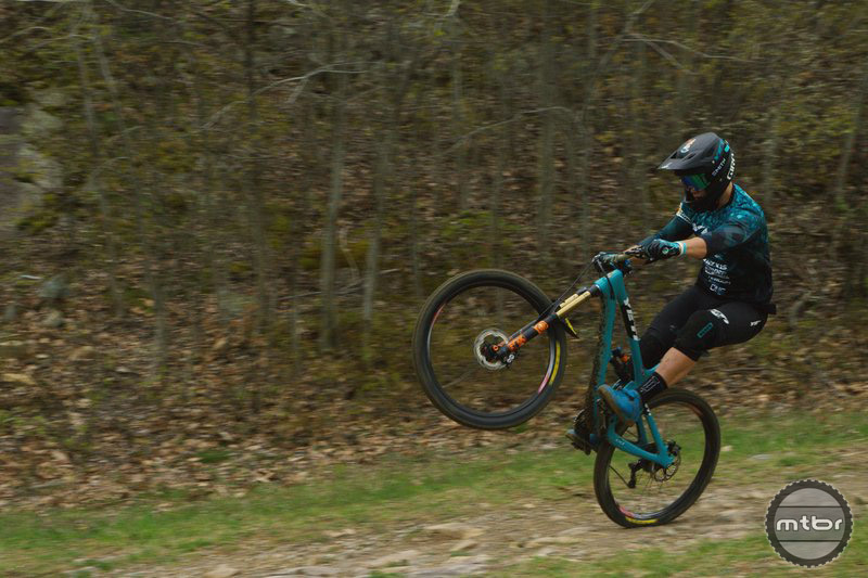 In this edit, reigning EWS Champ Richie Rude proves he has both speed and skill.