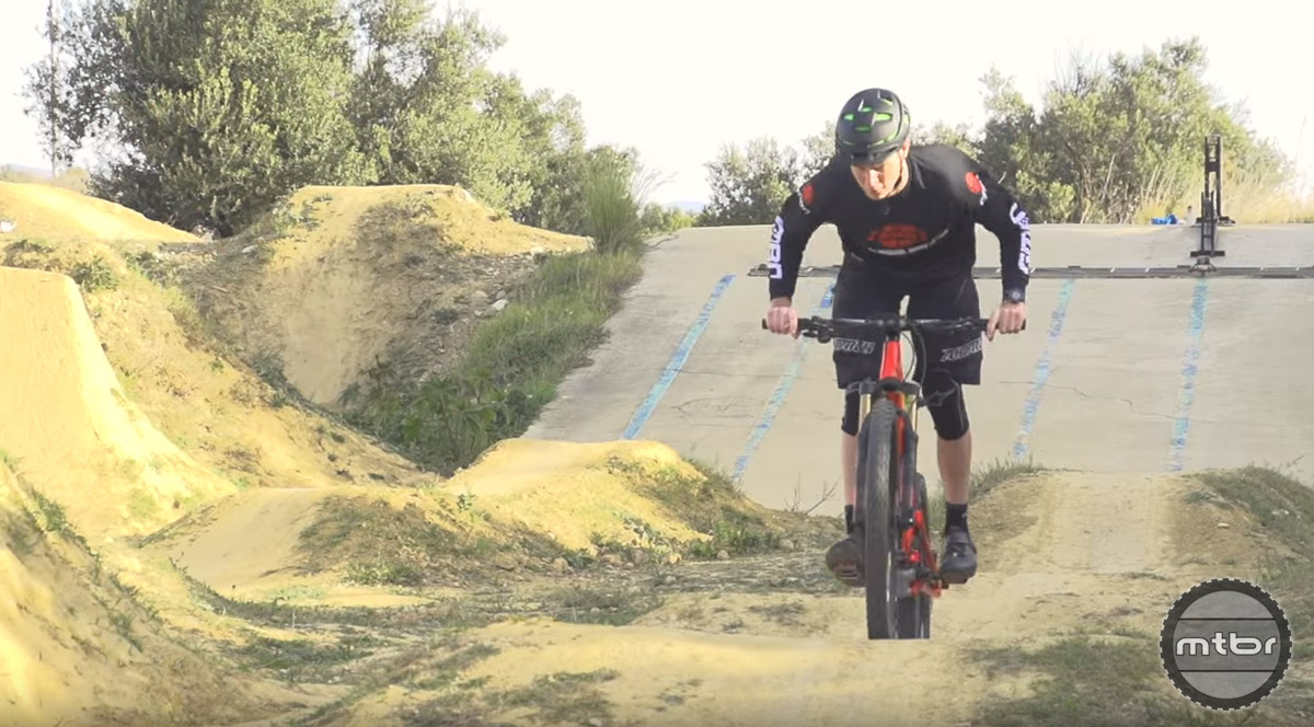 Pump tracks are a great place to learn and fine tune basic skills.