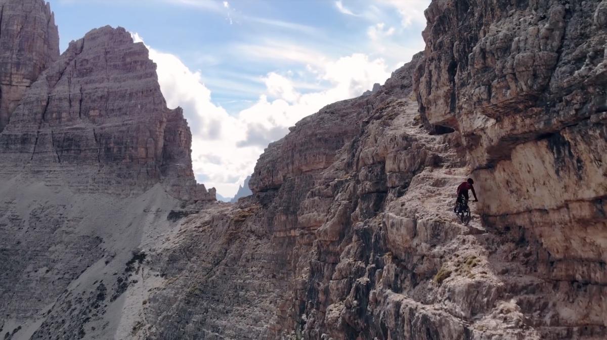 Kilian Bron's Extreme Dolomites Mission