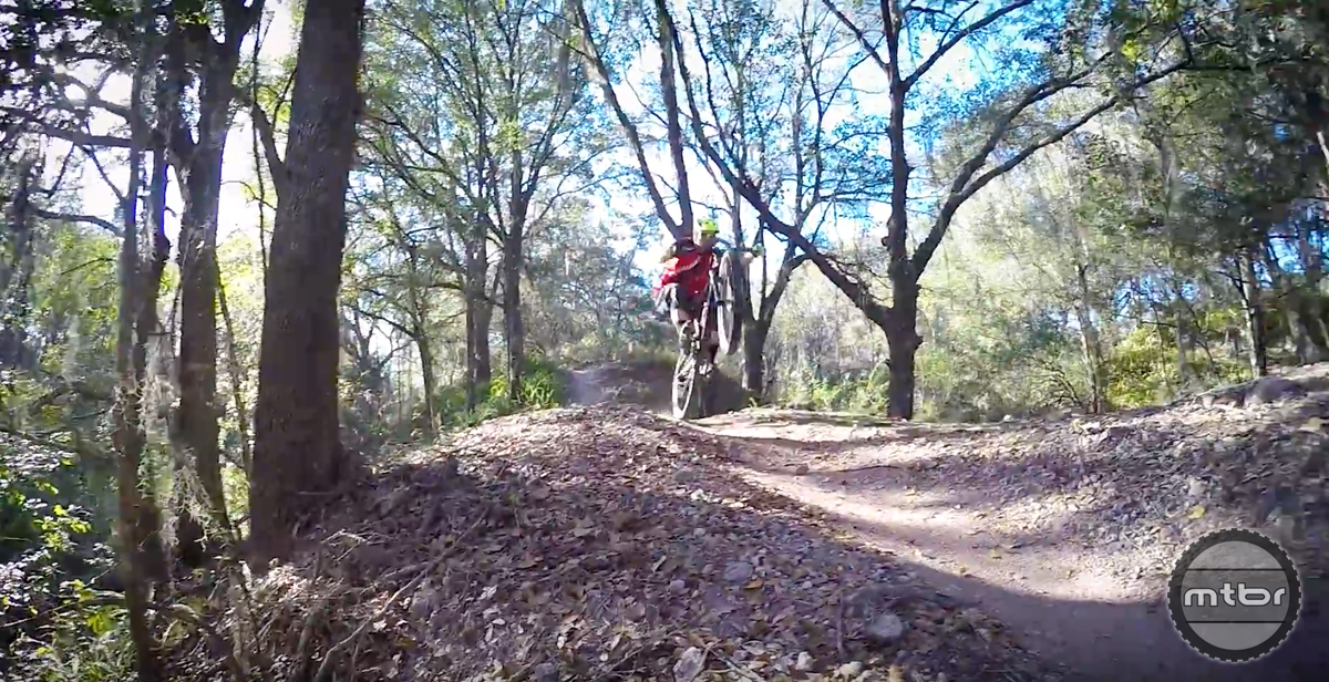 Jeff Lenosky Trail Boss: Ridgeline Trail at Boyette Bike Park