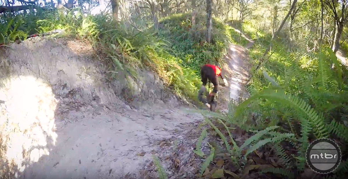 Jeff Lenosky Trail Boss: Ridgeline Trail at Boyette Bike Park