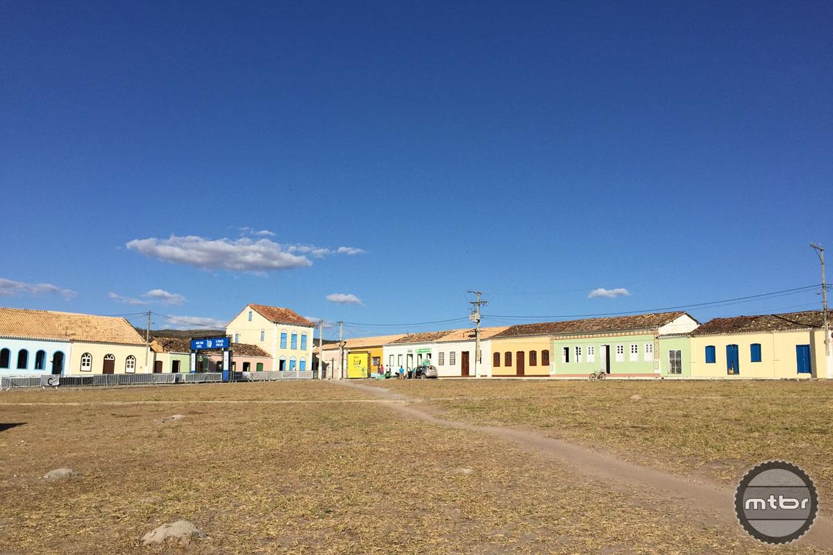 The small town of Rio de Contas.