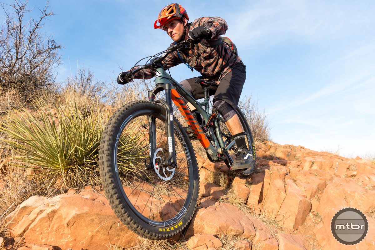 Niner RIP 9 Carbon - in action