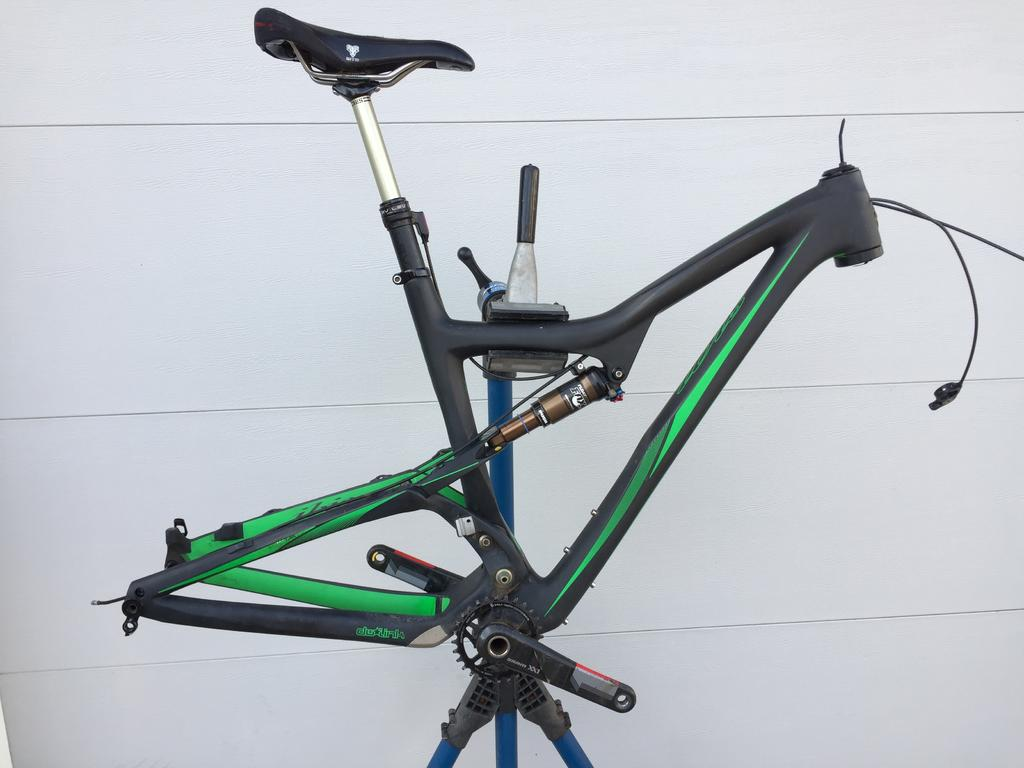 Large Ibis Ripley Frame + Extras, RS Pike RCT3 130mm- Mtbr.com